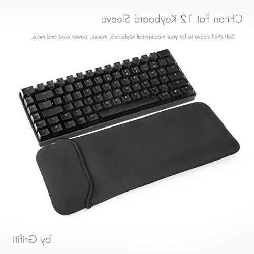 """Grifiti Chiton 12 6"""" Keyboard Sleeve and with Mouse Pocket"""