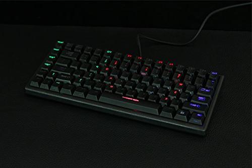 Noppoo 84 RGB 1ms REALKEY Technology Gaming