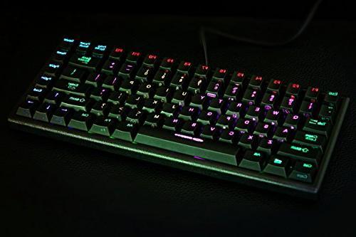 Noppoo Choc RGB backlighting NKRO REALKEY Technology Gaming