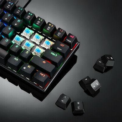 MOTOSPEED CK61 RGB Gaming Blue Switches Q7A5