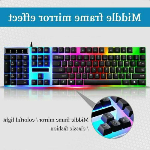 And Mouse Colorful Backlit Feel