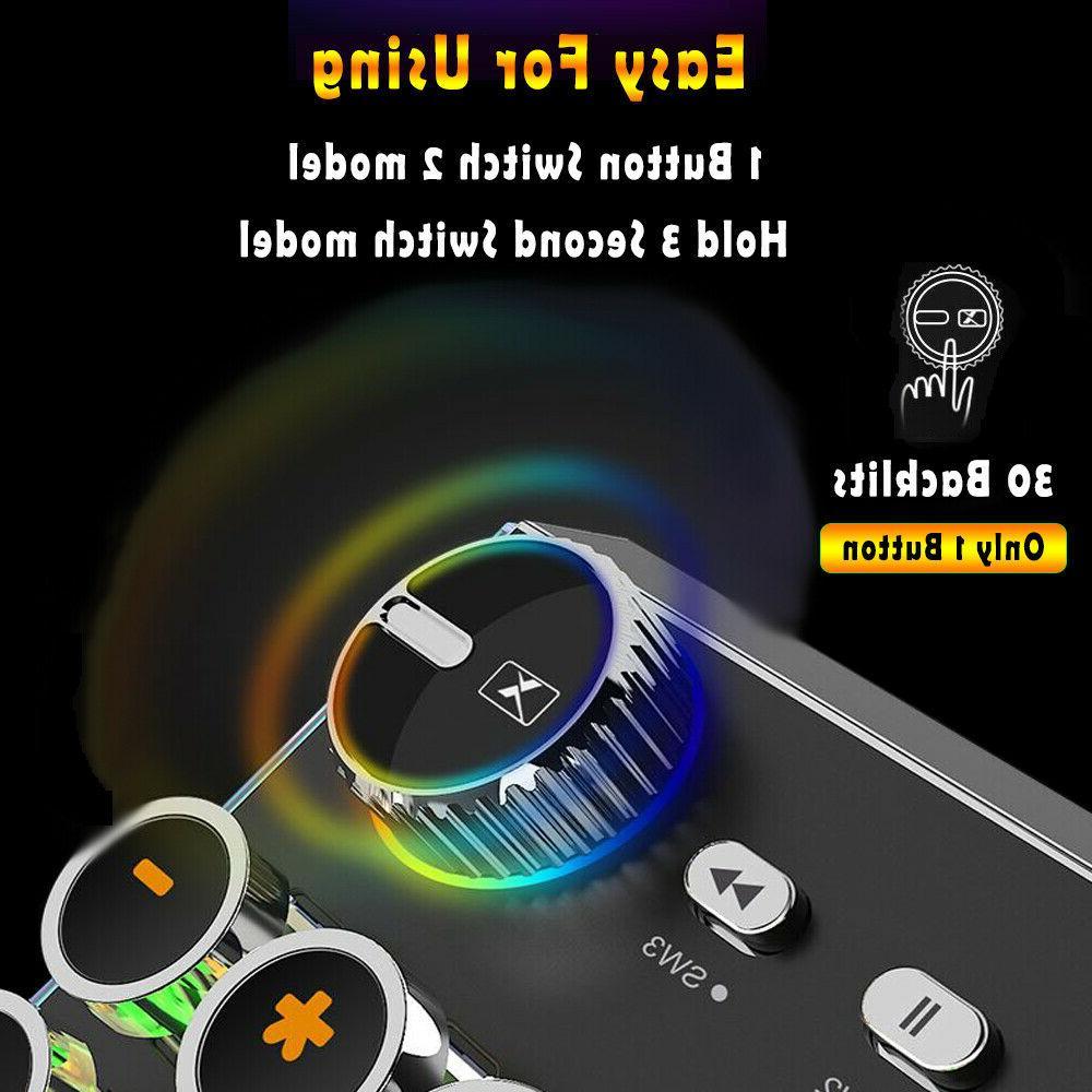 Backlit Computer LED Keys Professional Programable