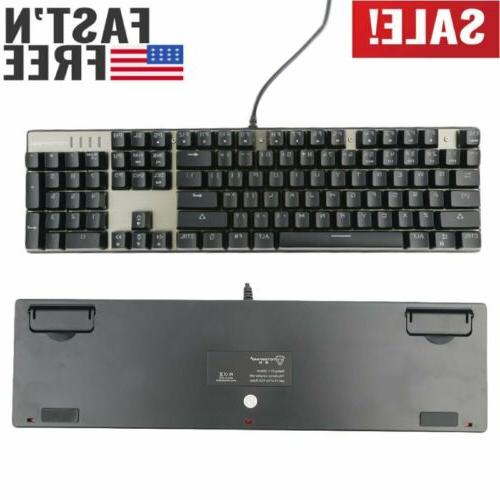 computer pc desktop gaming keyboard mechanical feel