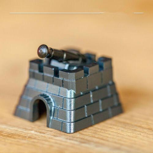 creative turret fortress wall mechanical keyboard keycap