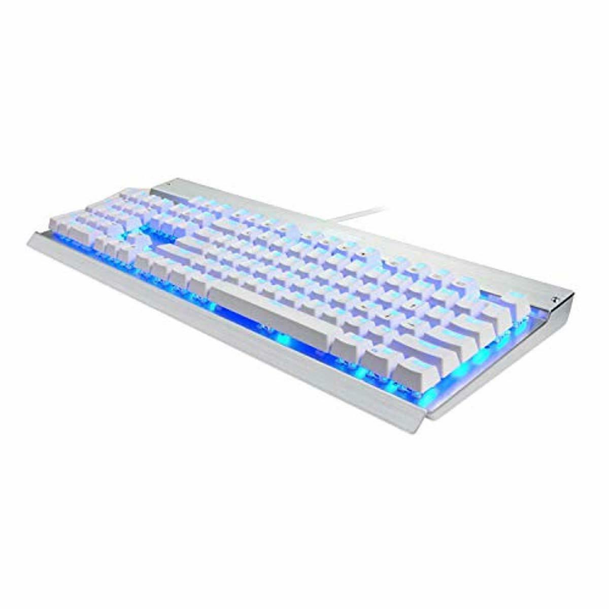 Eagletec KG011 Mechanical Blue Keys Natural Ergono