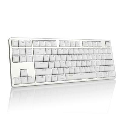 extra thin mechanical keyboard snow white backlit