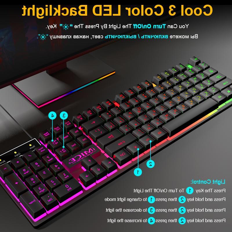 <font><b>Gaming</b></font> <font><b>Keyboard</b></font> Imitation <font><b>Keyboard</b></font> Keycaps Russian <font><b>Keyboard</b></font> With RGB Board