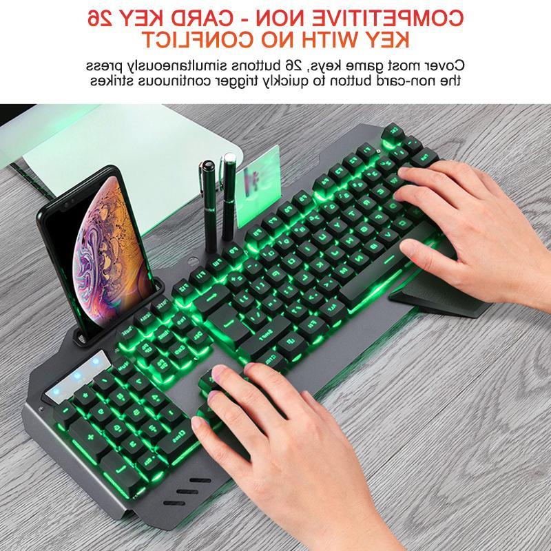 <font><b>Gaming</b></font> Mechanical Wired Ergonomic <font><b>Keyboard</b></font> Backlight <font><b>Phone</b></font> <font><b>Keyboard</b></font> For For