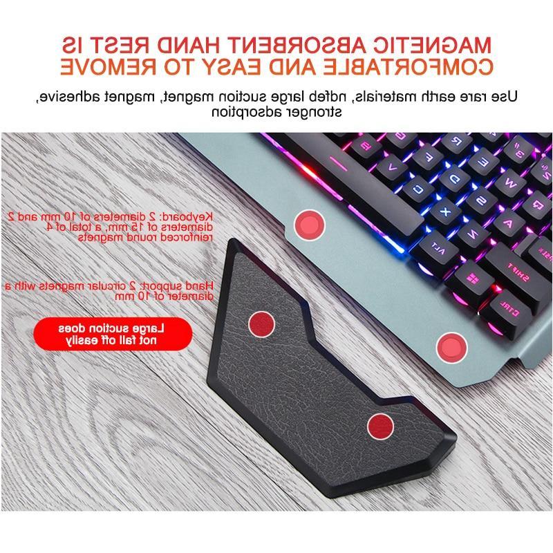 <font><b>Gaming</b></font> Ergonomic <font><b>Keyboard</b></font> With Backlight <font><b>Keyboard</b></font> Tablet For PUBG