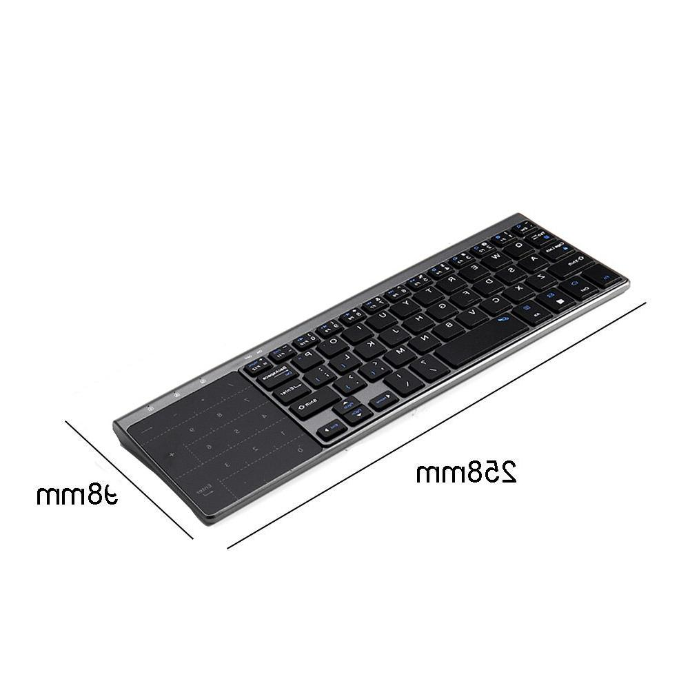 <font><b>Thin</b></font> 2.4GHz Mini Touchpad Keypad for Android