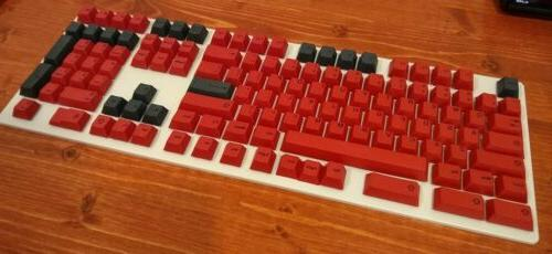 Full Size Compatibility Red Mechanical Set
