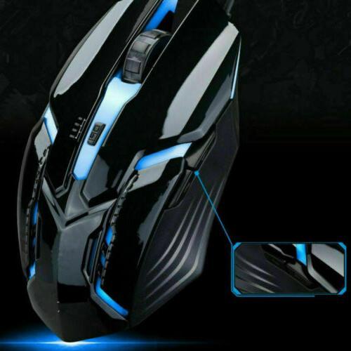G700 Mouse Backlit Quiet Ergonomic Water-Resistant