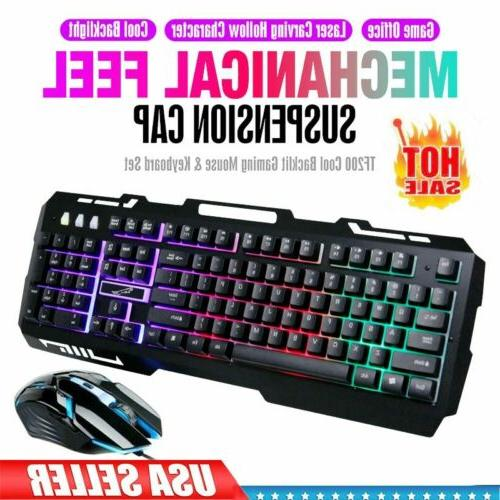 g700 gaming keyboard and mouse combo rgb