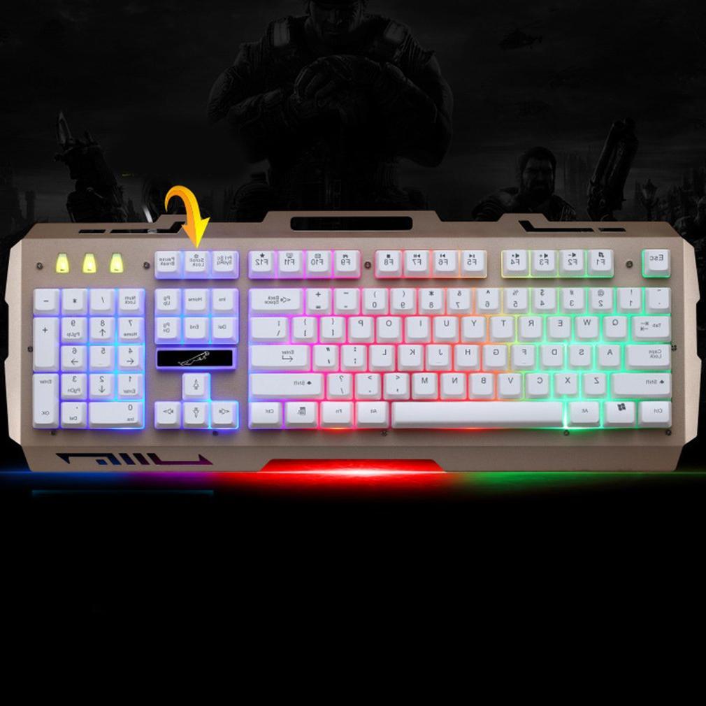 G700 USB feeling <font><b>Keyboard</b></font> Backlight Gaming <font><b>Keyboard</b></font> For PC Computer Gamer phone