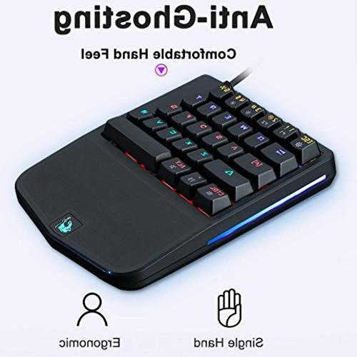 Game Keyboard-K9 】Ergonomic PC Single Gaming Mechanical For PLAYERUNKNOWN'S
