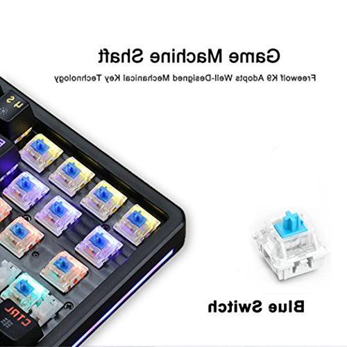 Game Backlit Keyboard-K9 Wired 】Ergonomic PC Gaming PLAYERUNKNOWN'S BATTLEGROUNDS Game