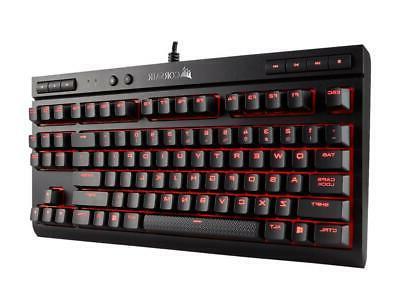 Corsair K63 Mechanical Keyboard, LED, Cherry