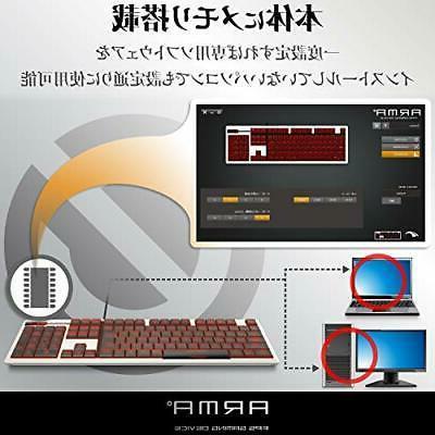 Elecom Keyboard own design full-size 50 ti