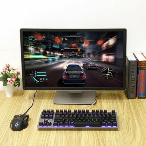 Gaming Backlit Mechanical LED JV