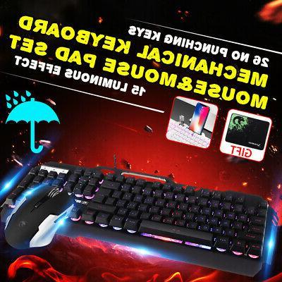 Gaming Keyboard Kit PC Feeling Illuminated