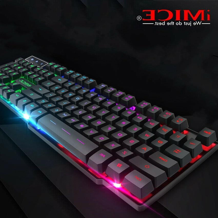 gaming keyboard mechanical feeling game computer board
