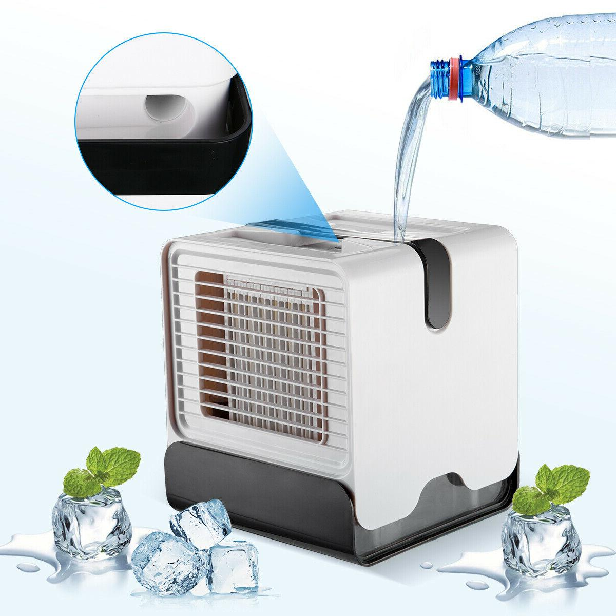 Mini Air Portable Water Cool Cooling Fan Artic Cooler Humidifier