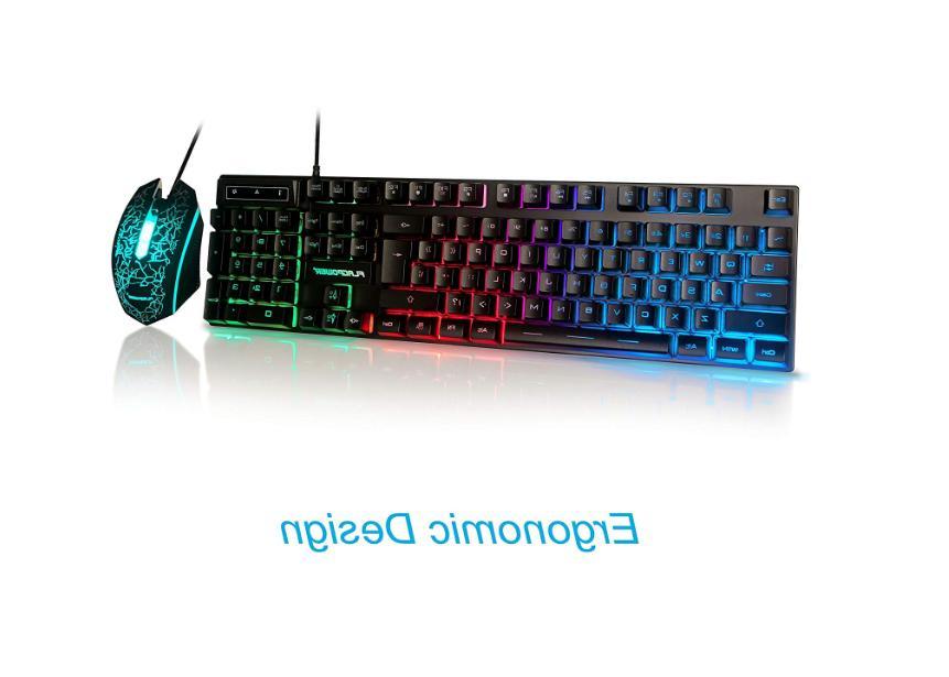 Gaming Mouse Bundles Multi-color Computer Accessories