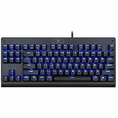 EagleTec Gaming KG040 Mechanical Blue Switches