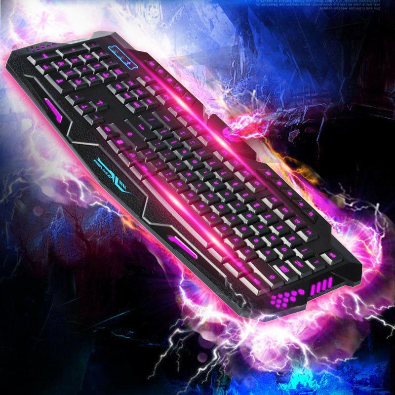 Gaming Mechanical Sense Backlit Tricolor Luminescent