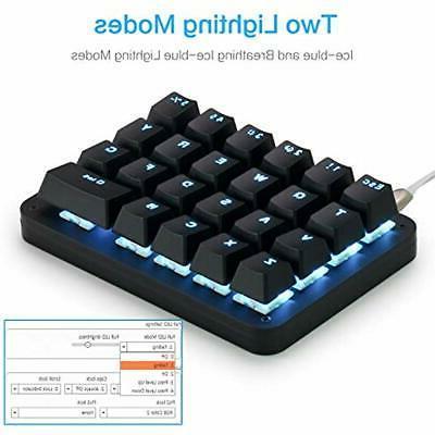 Koolertron Keyboards Handed LED Mini