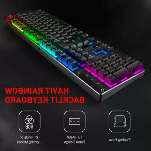 Havit Gaming Mechanical and Combo 4800DPI 7 Button