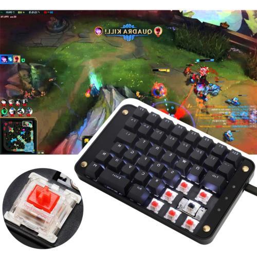 Koolertron Gateron Red Programmable Keypad, Gaming