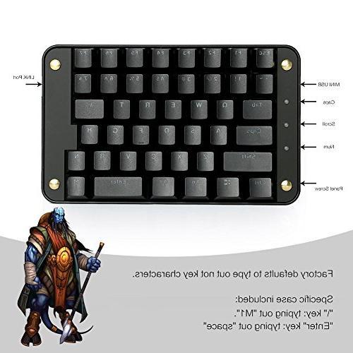 Koolertron Red Programmable Programmable Keypad Macro