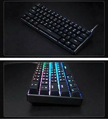 GK61 Gaming - Color RGB Backli