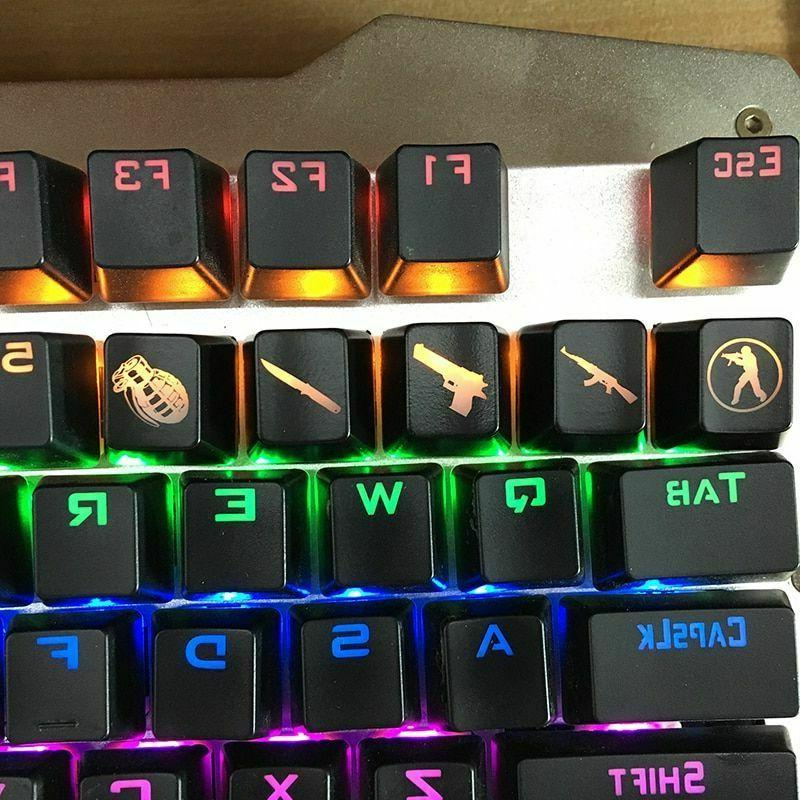 go gaming keycaps key button gaming accessories