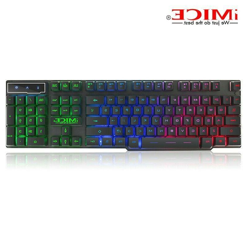 High Mechanical Keyboard 104 keys Blue Switch Gaming Keyboards