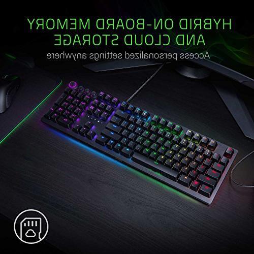 Razer Switch Multi-Functional Dial & - Wrist Rest - 4-Side Underglow Gaming Keyboard