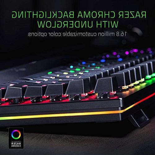 Razer Elite: Switch - Dial - Wrist - Gaming Keyboard
