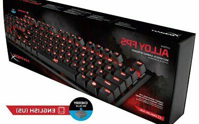 HyperX Alloy FPS Mechanical Gaming & Accessories - Compact Fa...
