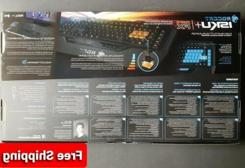 Roccat Isku+ PC Keyboard NEW