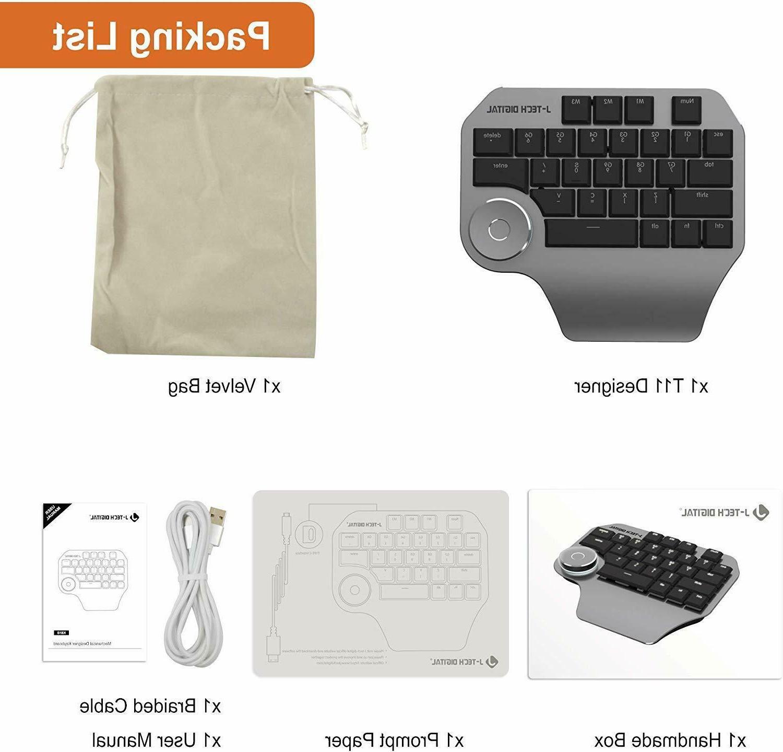 J-Tech Keyboard/ Knob