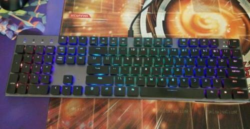 k1 mechanical keyboard 104 key rgb wireless