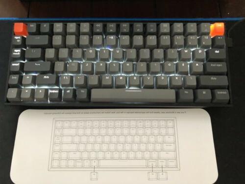 Keychron K2 Wireless Gaming Keyboard-Android/iOS/Win/Mac PC-RedSwitch