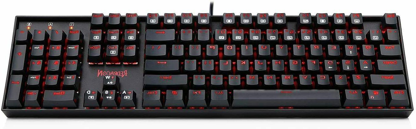 Redragon K551 Gaming Keyboard Backlit PC