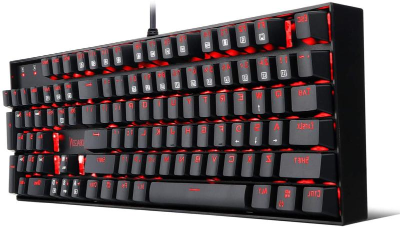 k551 mechanical gaming keyboard with clicky cherry
