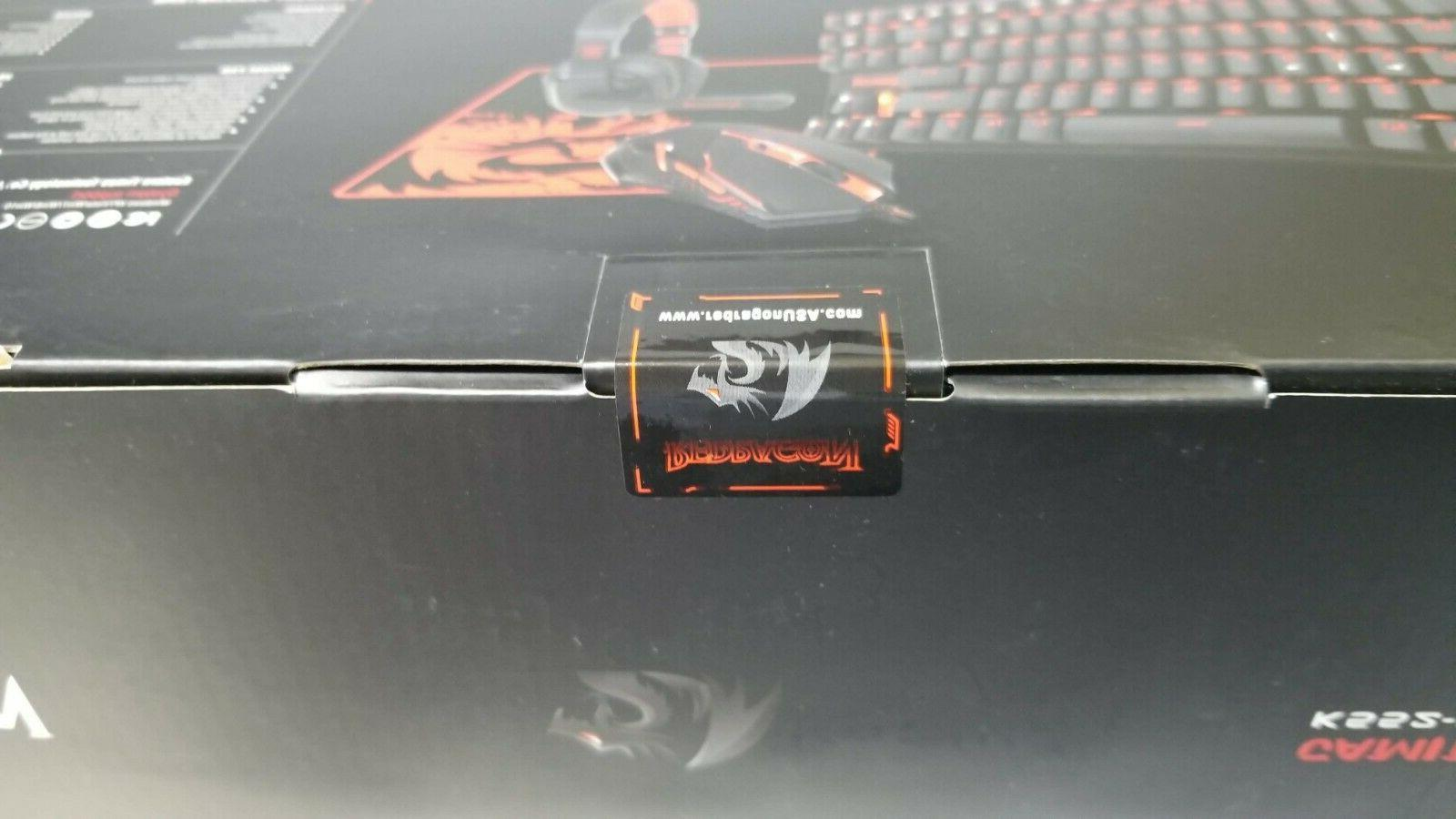 Redragon K552-BB and Headset