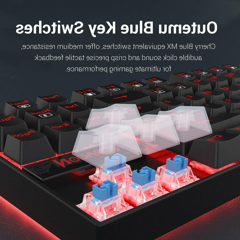 Redragon Keyboard 60% Small TKL Mechanical