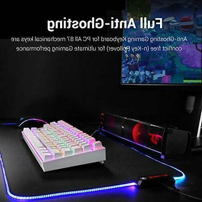 K552 Mechanical RGB LED Wired Keyboard
