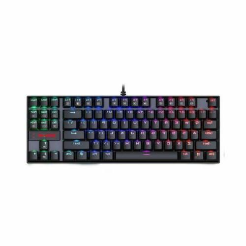 k552 rgb mechanical gaming keyboard 87 keys
