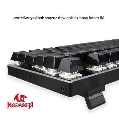 Redragon RGB 104 Keys Gaming + Switches